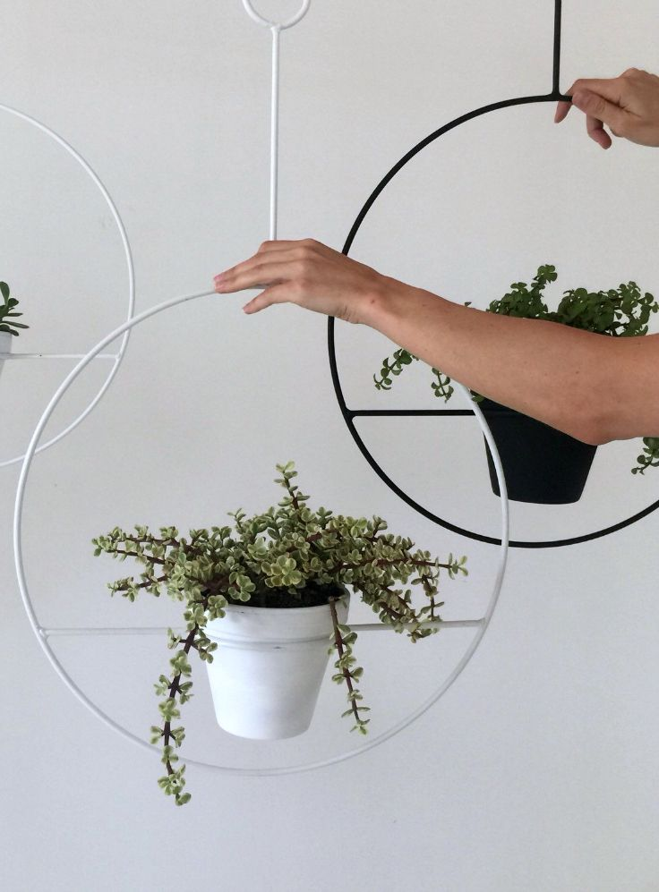 92 best wire planters images on Pinterest | Wrought iron, Herb ...