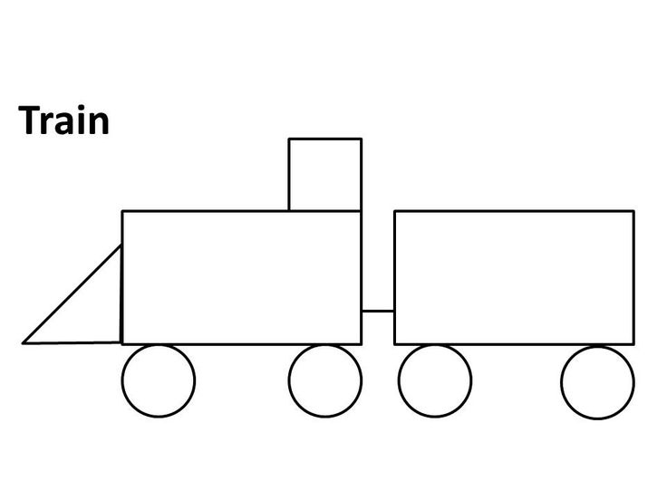 coloring pages trains preschoolers crafts - photo#2