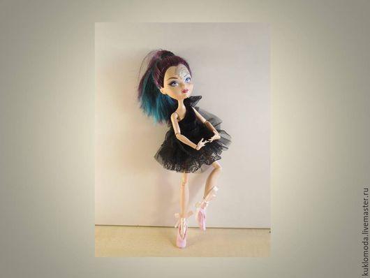 Одежда для кукол ручной работы. Заказать Костюм балерины. Одежда для ever after high.. Кукломода. Ярмарка Мастеров. Одежда для куклы