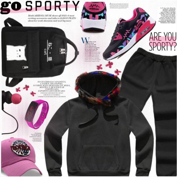 Go Sporty by katjuncica on Polyvore featuring Monster