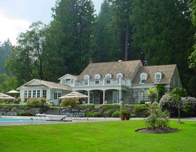 Secret Wedding Locations in BC: Rowena's Inn on the River. As seen on BRIDE.Canada