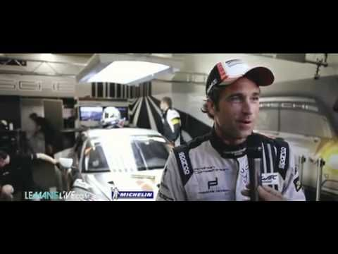 Patrick Dempsey Le Mans interview - YouTube