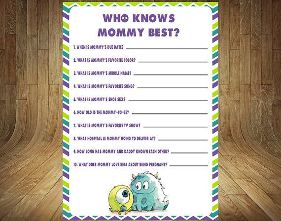 Monsters Who Knows Mommy Best Monsters Inc Baby by DigitalDelites