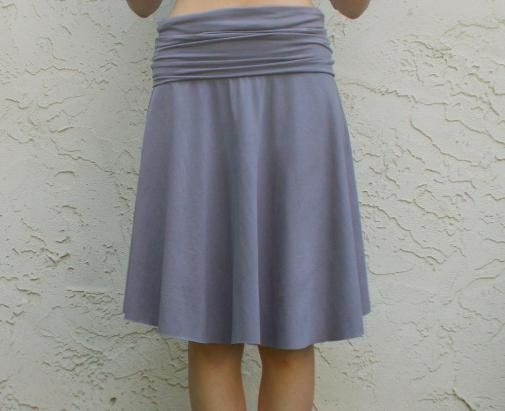 FREE SEWING PATTERN: The yoga skirt - On The Cutting Floor