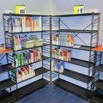 De Bibliotheek Outlet | website met gebruikte bibliotheekmeubelen