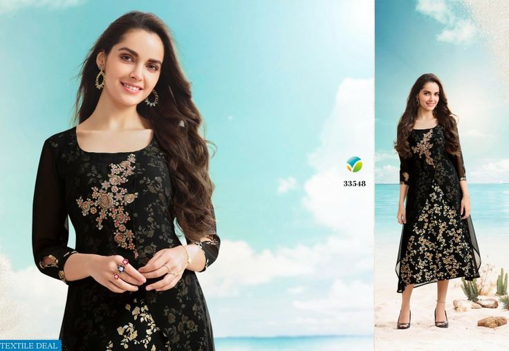 Shop Now Vinay Tumbaa Present Fancy Kurtis Catelogs Collection at Wholesale Rate Only at #Textiledeal