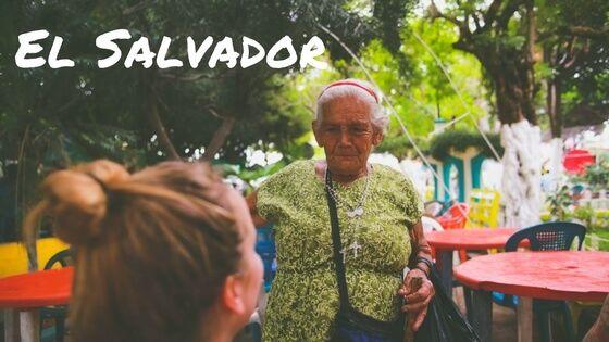 Meeting the friendly locals at the food festival in Juayua, El Salvador