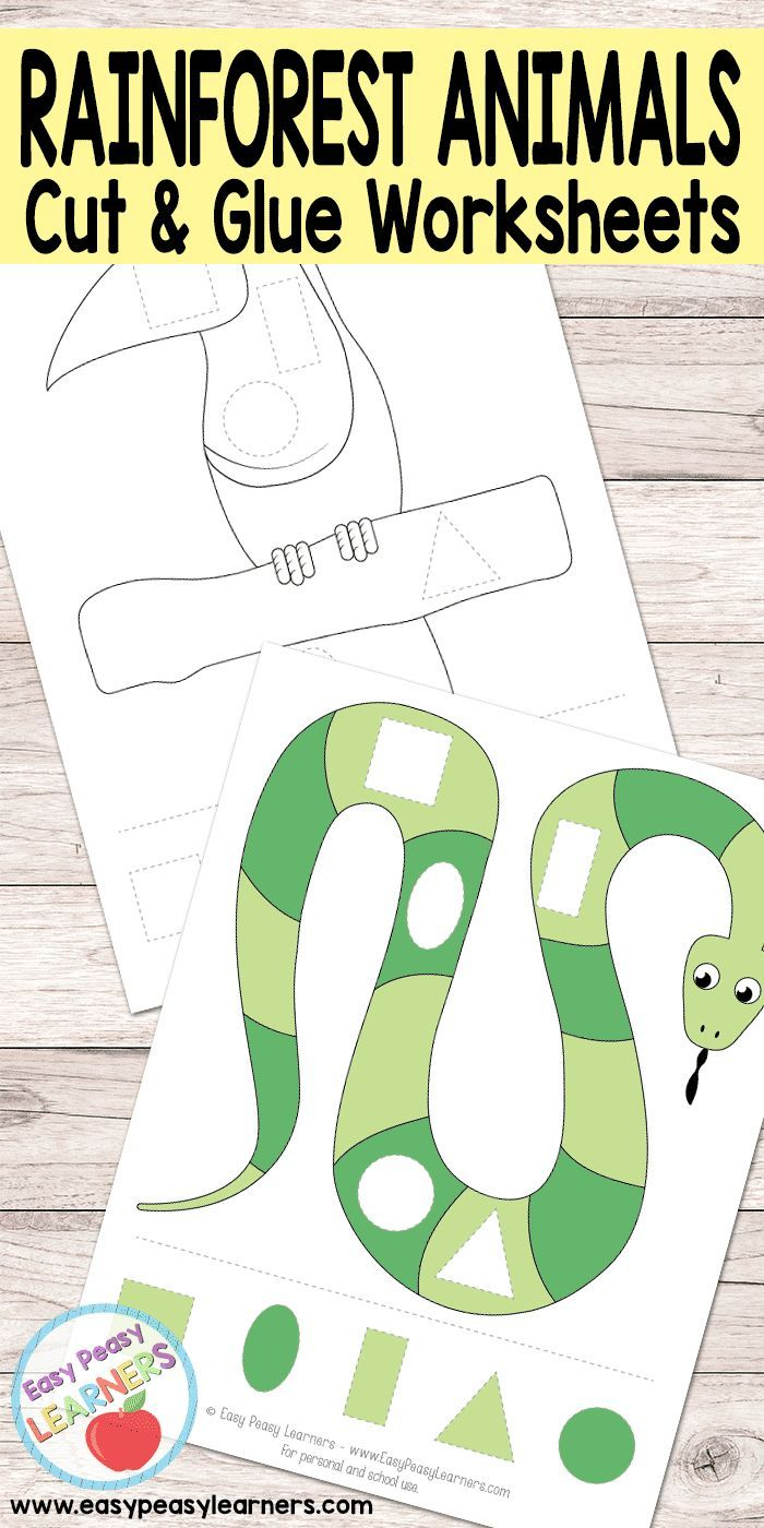 Pin On Free Printables For Kids Free printable jungle worksheets