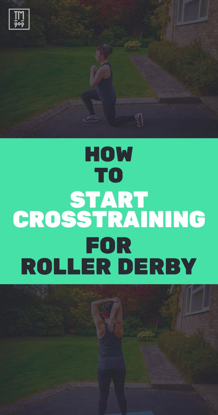 Check out these three cornerstones of crosstraining for roller derby.
