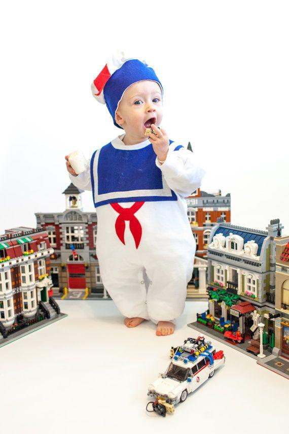 Kids Costume Marshmallow Man Childrens Costume - Stay Puft Warm Version