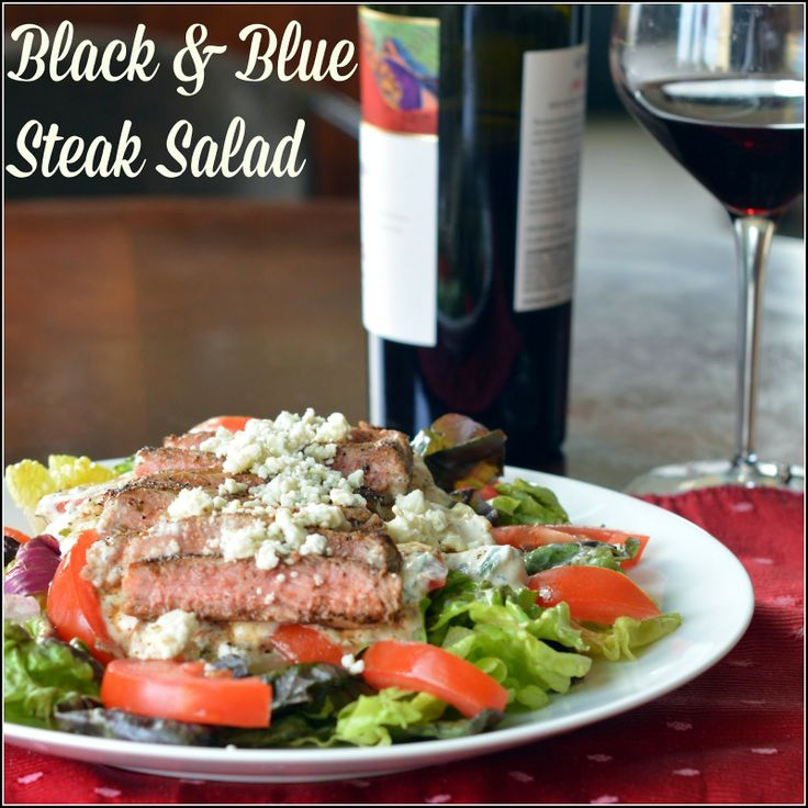 how to cook a black and blue steak