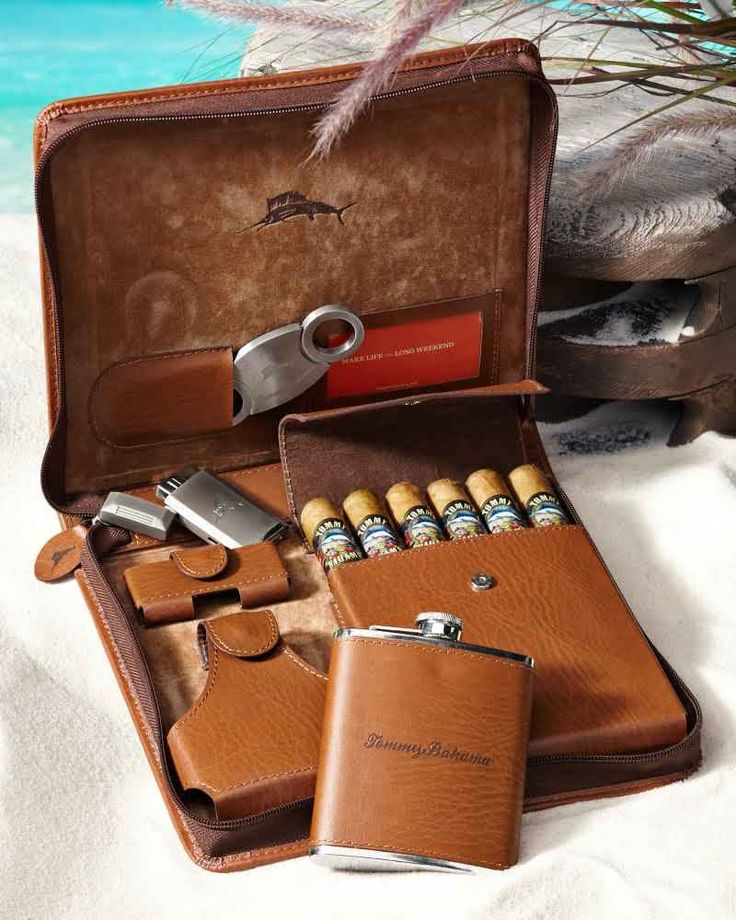 If I smoked Cigars, I would want this! Weekend Leather Cigar Case