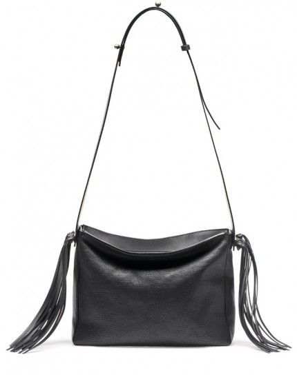 Shoulder bag con frange Lanvin
