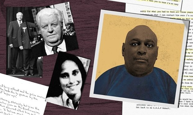 """""""The wrongful conviction civil-rights cases are emerging as the most effective way to curb police abuse tactics,"""" said attorney Kathleen Zellner, who in late January began representing Lee Harris (above), one of multiple people who have detailed to the Guardian a trail of dubious confessions extracted by Detective Richard Zuley (top left)."""