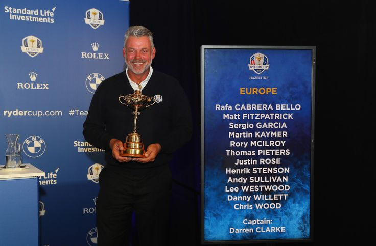 European Captain Darren Clarke has named Martin Kaymer Thomas Pieters and Lee Westwood as his three captains picks for The 2016 Ryder Cup at Hazeltine National.  Former World Number Ones Kaymer and Westwood have 12 previous Ryder Cup appearances between them and will add a wealth of experience to the nine already-confirmed automatic qualifiers while Pieters stunning recent form which culminated in his impressive victory at last weeks Made in Denmark is rewarded with a rookie appearance in…