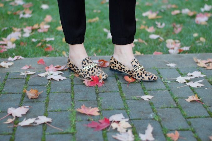Leopard Steve Madden loafers (See more at www.covetandacquire.blogspot.ca)