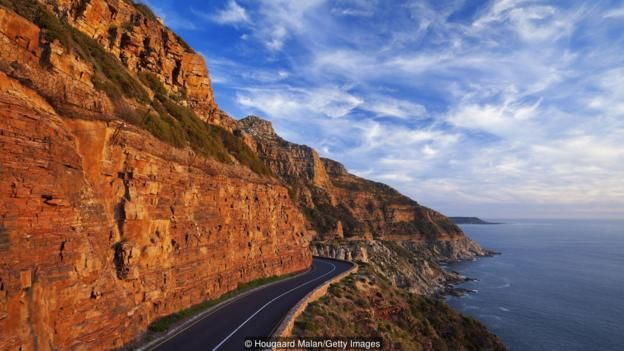 Chapman's Peak Drive snakes 9km along South Africa's Atlantic Coast (Credit: Credit: Hougaard Malan/Getty Images)