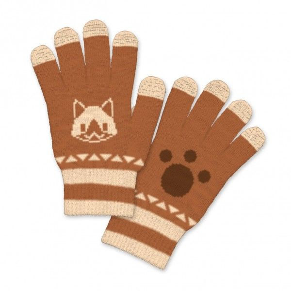 Monster Hunter X Smartphone Glove Airou starts preorder! Lovely glove that suits for smartphone use.