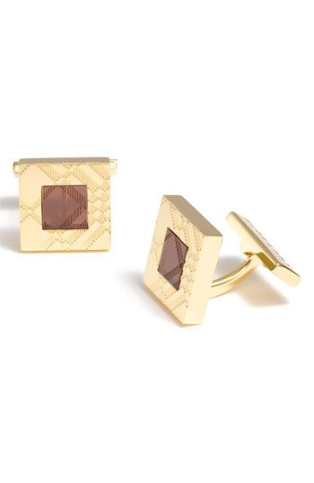 Burberry Enameled Cuff Links available at #Nordstrom