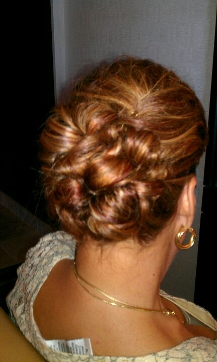Mother of the bride by Brandee at Alonzo Frank Hair Design
