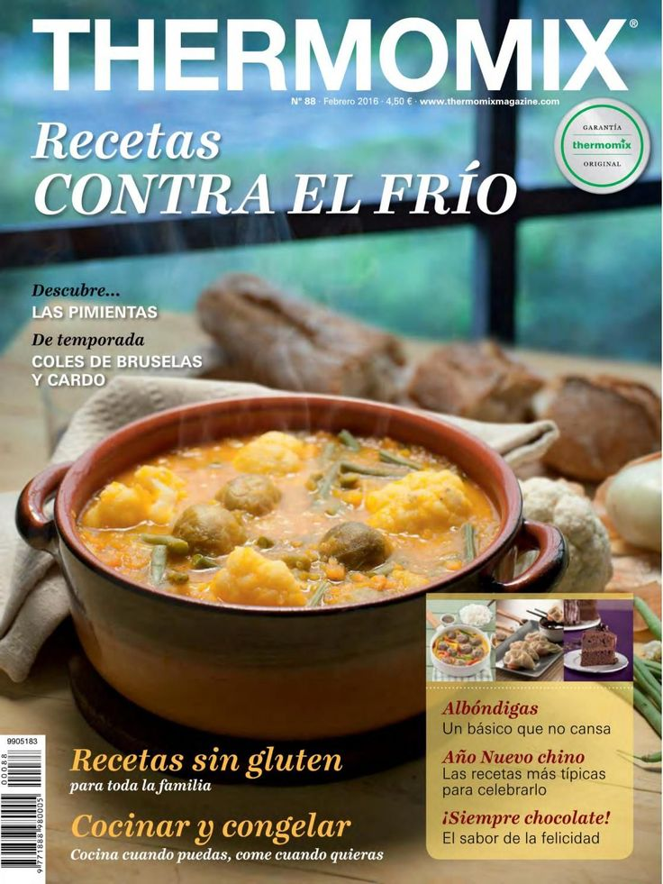 Thermomix magazine nº 88 [febrero 2016] by Ada Wong - issuu