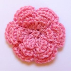 Crochet Hair Video Tutorials : Crocheted hair flower tutorial Crochet Pinterest