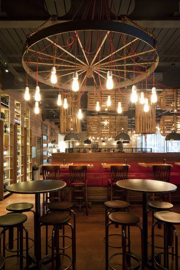 Burger lobster london by designlsm interior bar