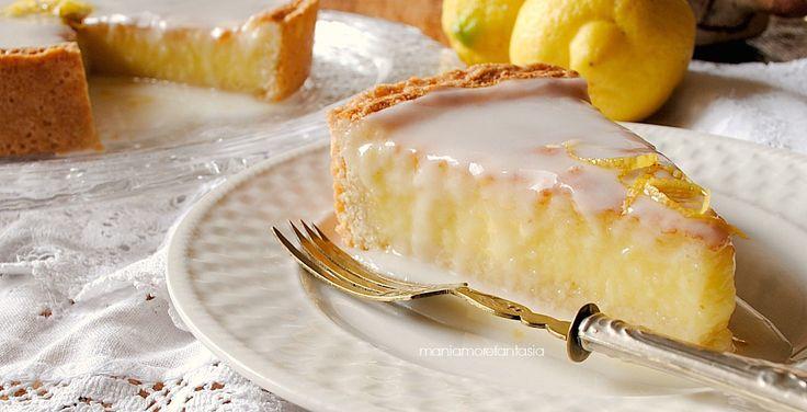 Torta+al+limone+con+glassa+al+limoncello