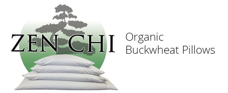 "Amazon.com: Buckwheat Pillow - Zen Chi Organic Buckwheat Pillow Queen Size (20"" X 30"")- 100 Percent Cotton Cover with Organic Buckwheat Hulls: Home & Kitchen"