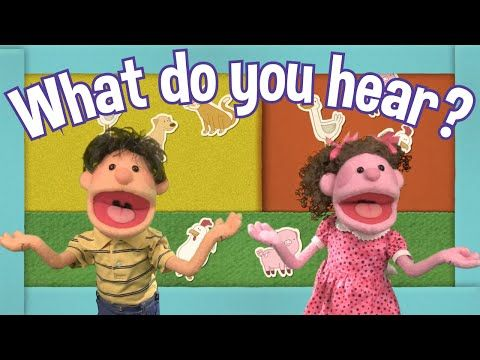 What Do You Hear? | Animal Song | Super Simple Songs - YouTube