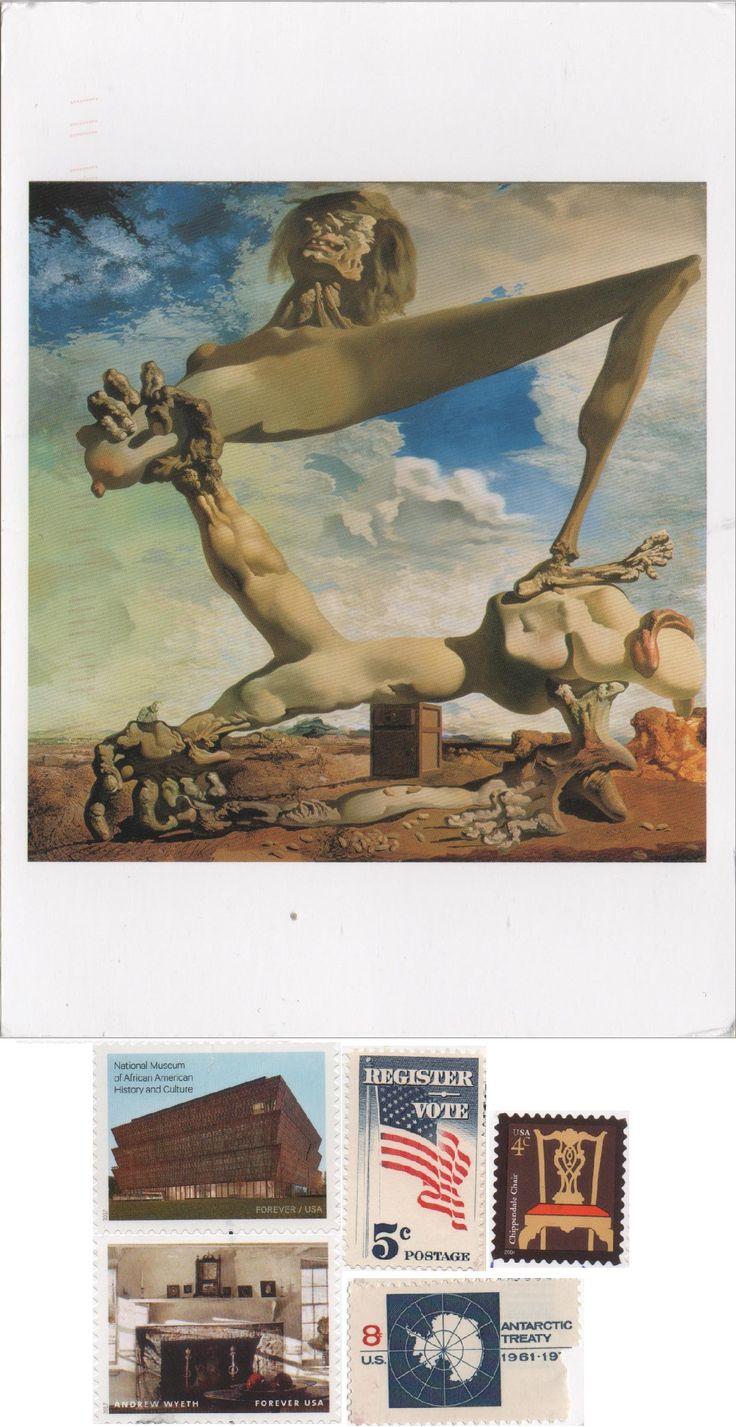 US-5094133 (2018°10) - Arrived: 2018.01.24   ---    Salvador Dalí - Soft Construction with Boiled Beans (1936)