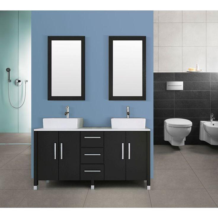 Double Bathroom Vanity in Phoenix Stone | Buy Sinks & Vanities