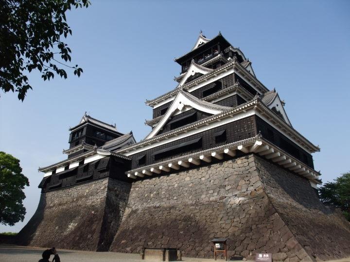 Kumamoto-jou-castle, Japan