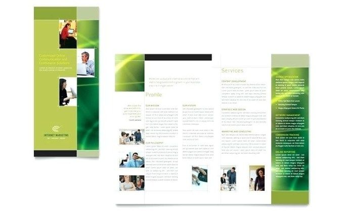 Free Flyer Templates For Word 2010 Free Bifold Brochure
