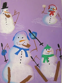 snowmen - looks amazing and could tie into movement in art. Also could inspire creative writing.
