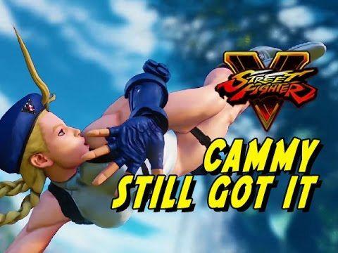 CAMMY STILL GOT IT: Street Fighter 5 Online Matches