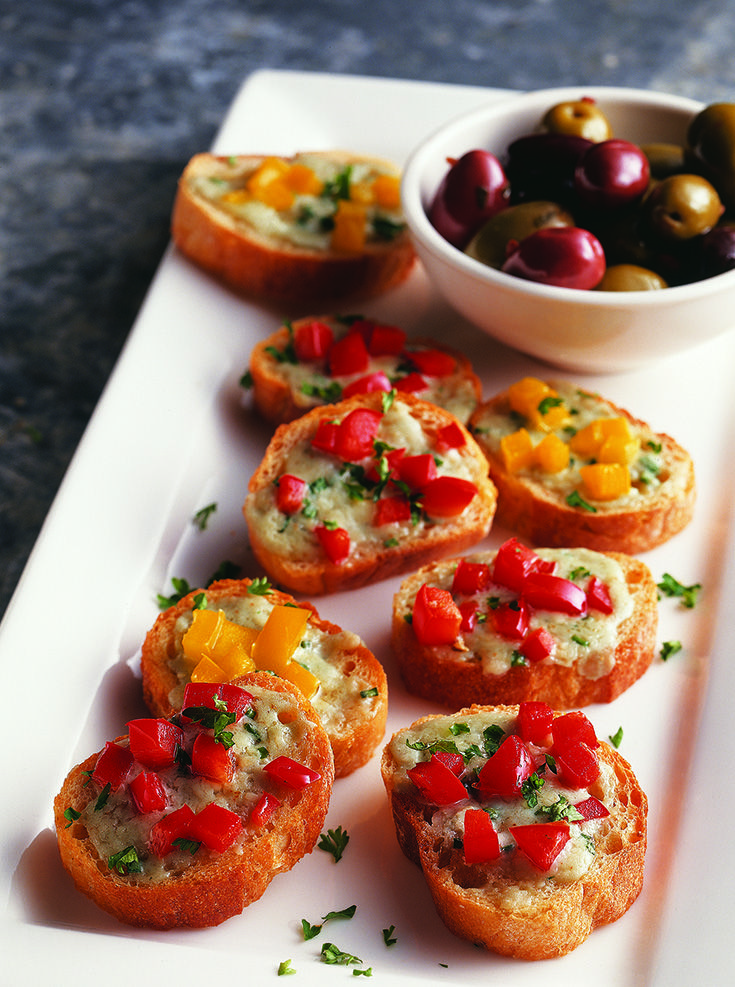 blue cheese bruschetta recipe blue cheese blue and onions. Black Bedroom Furniture Sets. Home Design Ideas