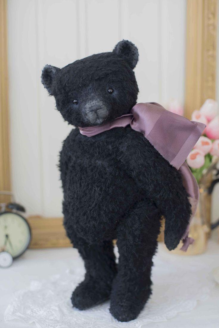 VitaComoda - Artist bear and bunny, handmade teddy bear