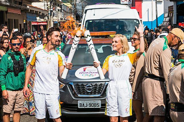 rio olympics 2016 turkey   and Dima Bilan among Olympic Flame torchbearers on…
