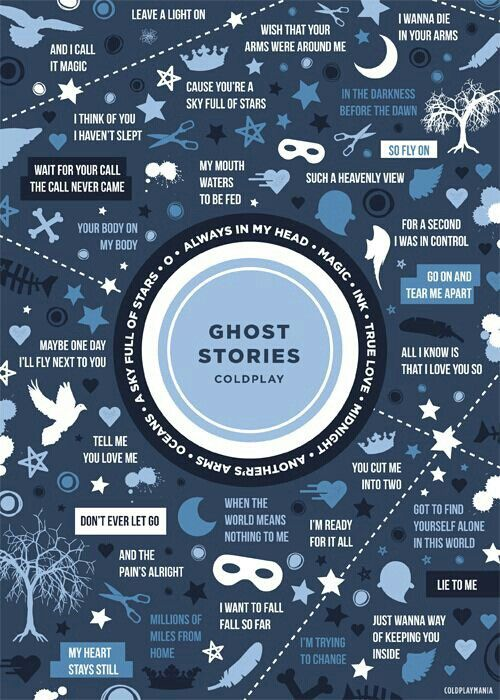 GHOST STORIES-coldplay