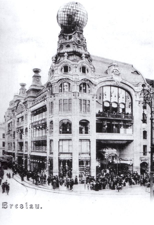 Wroclaw-barasch-opening-1904 - Barasch Brothers' Department Store - Wikipedia, the free encyclopedia