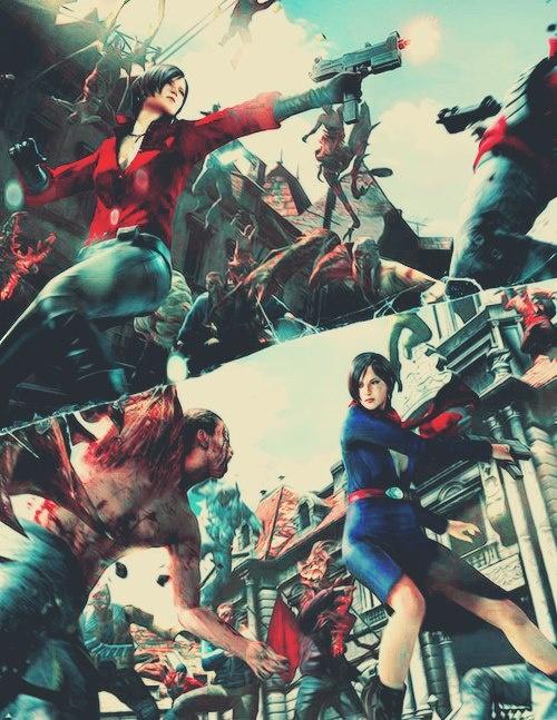 Resident Evil 6 - Ada Costumes