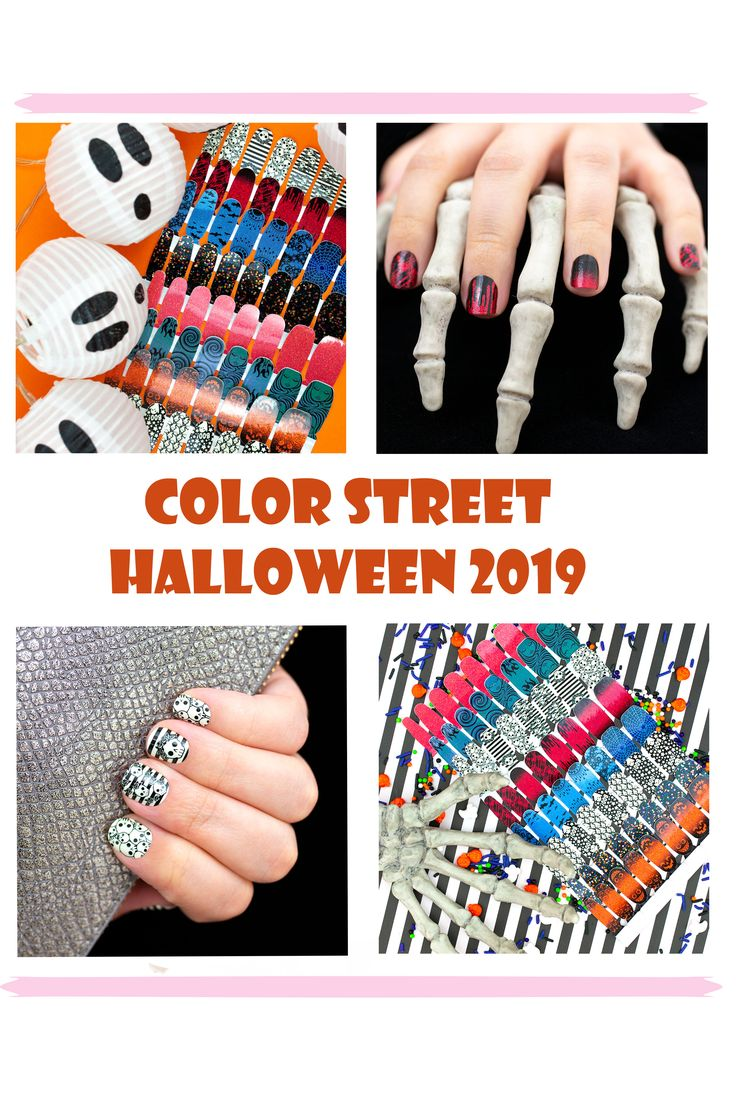 Color Street Halloween 2019 Nails. 8 limited edition ...