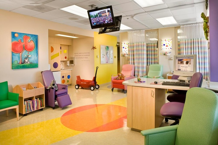 Children's Infusion Center, Renown Children's Hospital, Reno, NV.