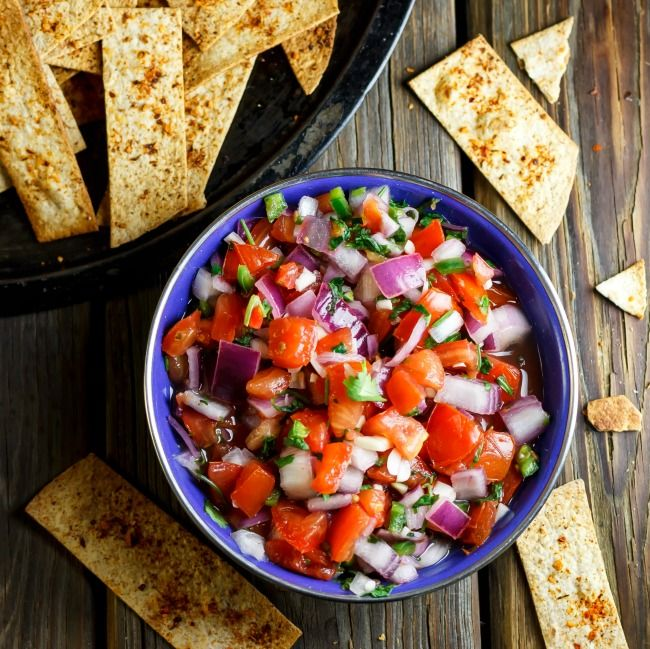Gin's Authentic Mexican Salsa Recipe: quick, easy, delicious #CincodeMayo goodness!