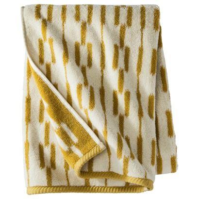 nate berkus ikat link bath towel decor pinterest. Black Bedroom Furniture Sets. Home Design Ideas