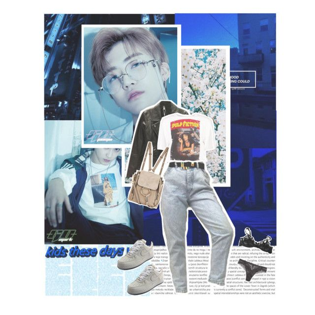 """""""We be screaming GO GO «Nct dream, GO»"""" by parkeunseo on Polyvore featuring Zara, Boohoo, Chloé, NIKE, Agent Provocateur, Lise Charmel, go, mark, nct and NCTDREAM"""