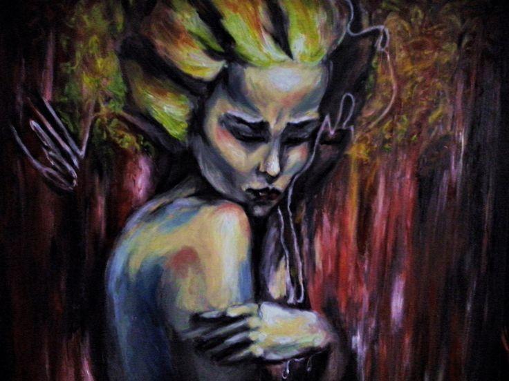 Oil painting 100cm x 100cm  www.iobrazy.com.pl