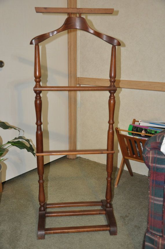 Men s valet stand mid century gentlemans