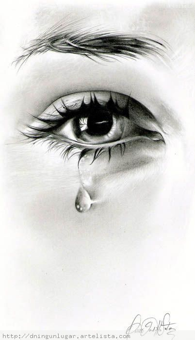 True Tears are Unshed. They run constantly in the mind. Never losing flow. Moderate.